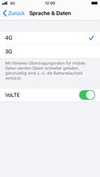 Apple iPhone SE - iOS 14 - Netzwerk - So aktivieren Sie eine 4G-Verbindung - Schritt 7