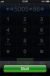 Apple iPhone - voicemail - handmatig instellen - stap 5