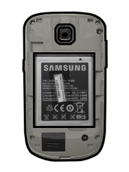 Samsung S5570 Galaxy Mini - SIM-Karte - Einlegen - Schritt 5