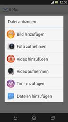 Sony Xperia Z - E-Mail - E-Mail versenden - 11 / 15