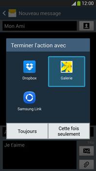 Samsung Galaxy Note 3 - Contact, Appels, SMS/MMS - Envoyer un MMS - Étape 16