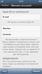 Apple iPhone 5 (iOS 6) - apps - account instellen - stap 8