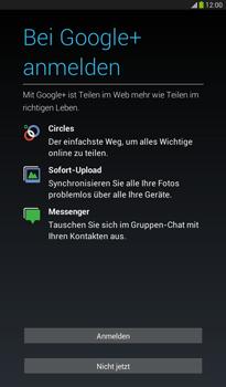 Samsung T211 Galaxy Tab 3 7-0 - Apps - Konto anlegen und einrichten - Schritt 16
