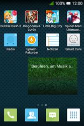 Alcatel Pixi 3 (3.5) - Startanleitung - Installieren von Widgets und Apps auf der Startseite - Schritt 6
