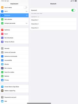 Apple iPad Pro 12.9 (2018) - ipados 13 - Bluetooth - Collegamento dei dispositivi - Fase 5
