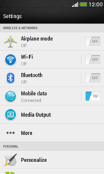 HTC Desire 500 - Network - Usage across the border - Step 4