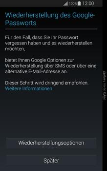 Samsung Galaxy Note Edge - Apps - Konto anlegen und einrichten - 2 / 2