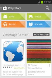 Samsung Galaxy Fame Lite - Apps - Einrichten des App Stores - Schritt 26