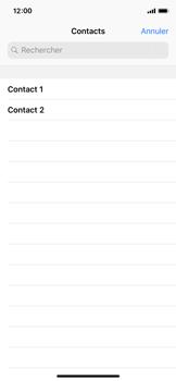 Apple iPhone XS - iOS 12 - Contact, Appels, SMS/MMS - Envoyer un SMS - Étape 5