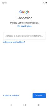 Samsung Galaxy S20 FE - Applications - Créer un compte - Étape 5