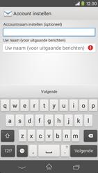 Sony Xperia M2 (D2303) - E-mail - Handmatig instellen - Stap 17