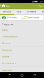 Sony Xperia Z2 - Applicazioni - Installazione delle applicazioni - Fase 6