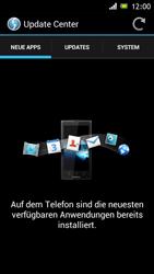 Sony Xperia J - Software - Installieren von Software-Updates - Schritt 7