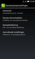 Alcatel OT-4033X Pop C3 - Voicemail - handmatig instellen - Stap 8