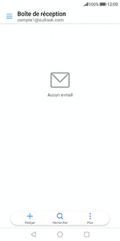 Huawei Mate 10 Pro - E-mail - Configuration manuelle (outlook) - Étape 8