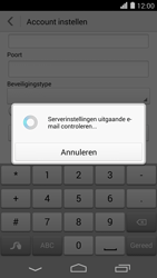 Huawei Ascend P7 - E-mail - Account instellen (POP3 zonder SMTP-verificatie) - Stap 18