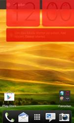 HTC Desire X - Startanleitung - Installieren von Widgets und Apps auf der Startseite - Schritt 8