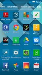 Alcatel Pop C7 - Startanleitung - Installieren von Widgets und Apps auf der Startseite - Schritt 3
