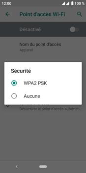 Crosscall Core M4 - Internet et connexion - Partager votre connexion en Wi-Fi - Étape 10