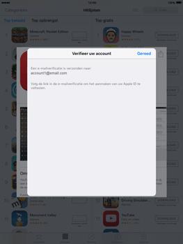 Apple iPad mini met iOS 9 (Model A1455) - Applicaties - Account aanmaken - Stap 23
