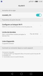 Huawei P9 - Internet et connexion - Partager votre connexion en Wi-Fi - Étape 11