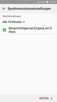 Samsung Galaxy A8 - E-Mail - Manuelle Konfiguration - Schritt 15