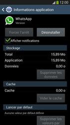 Samsung Galaxy S 4 LTE - Applications - Comment désinstaller une application - Étape 7