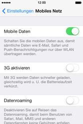 Apple iPhone 4 S mit iOS 7 - Netzwerk - Netzwerkeinstellungen ändern - Schritt 5