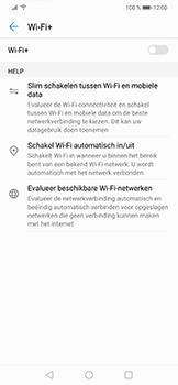 Huawei P Smart Plus - wifi - schakel Wi-Fi Assistentie uit - stap 9