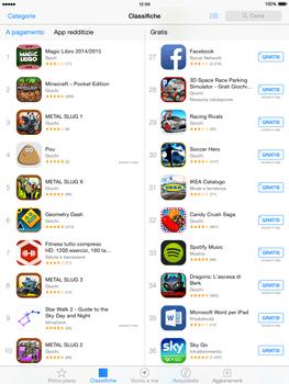 Apple iPad Air - iOS 8 - Applicazioni - Configurazione del negozio applicazioni - Fase 4