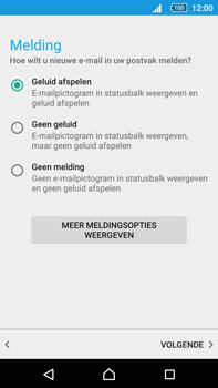 Sony Xperia Z5 Premium (E6853) - E-mail - Handmatig instellen (outlook) - Stap 11