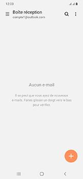 Samsung Galaxy A20e - E-mails - Ajouter ou modifier votre compte Outlook - Étape 13
