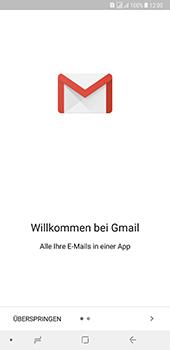 Samsung Galaxy A8 Plus (2018) - E-Mail - Konto einrichten (gmail) - Schritt 5