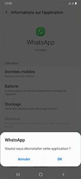 Samsung Galaxy A41 - Applications - Supprimer une application - Étape 7