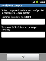 Samsung Galaxy Pocket - E-mail - Configuration manuelle - Étape 16