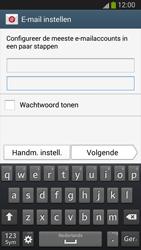 Samsung I9300 Galaxy S III - E-mail - Handmatig instellen (yahoo) - Stap 6