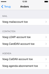 Apple iPhone 4s iOS 8 - E-mail - Account instellen (IMAP zonder SMTP-verificatie) - Stap 6