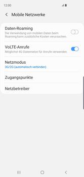 Samsung Galaxy S10 - Netzwerk - So aktivieren Sie eine 4G-Verbindung - Schritt 6