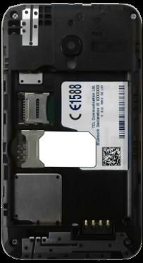 Alcatel OT-4009D Pixi 3 (3.5) - SIM-Karte - Einlegen - Schritt 3