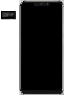 Huawei Mate 20 Lite - SIM-Karte - Einlegen - 4 / 8