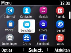 Nokia Asha 210 - SMS - Handmatig instellen - Stap 3