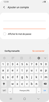 Samsung Galaxy S9 - Android Pie - E-mail - configuration manuelle - Étape 8
