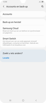 Samsung Galaxy A70 - Data - maak een back-up met je account - Stap 5