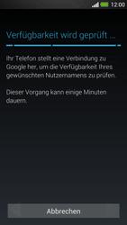 HTC One - Apps - Konto anlegen und einrichten - 9 / 25