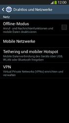 Samsung Galaxy S4 Active - Netzwerk - Netzwerkeinstellungen ändern - 5 / 8