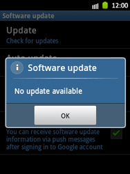 Samsung Galaxy Pocket - Software - Installing software updates - Step 9