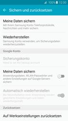 Samsung Galaxy S6 Edge - Fehlerbehebung - Handy zurücksetzen - 7 / 11