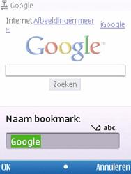 Nokia 6700 slide - internet - hoe te internetten - stap 6