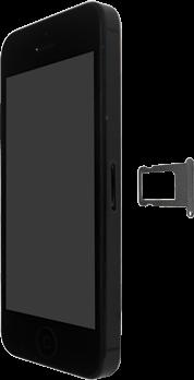 Apple iPhone SE - iOS 13 - Appareil - comment insérer une carte SIM - Étape 3