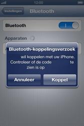 Apple iPhone 4 (iOS 6) - bluetooth - headset, carkit verbinding - stap 6
